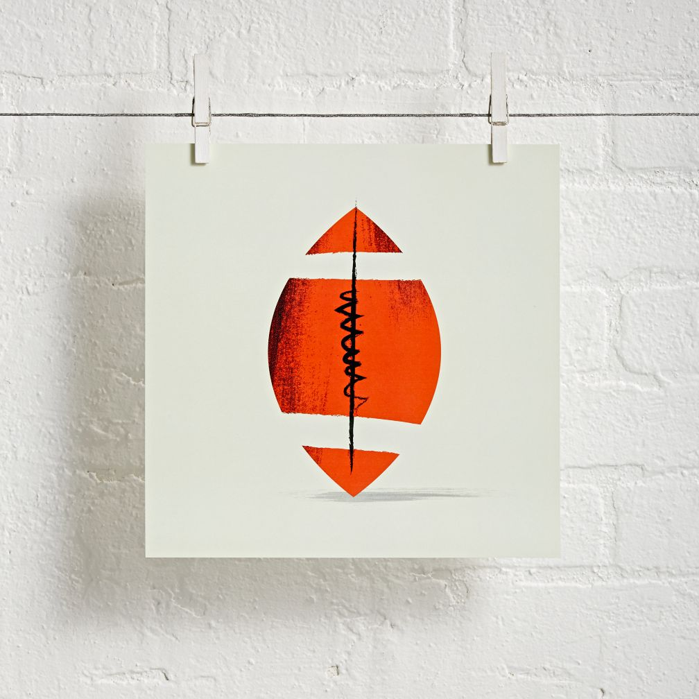Sports Wall Art (Football)