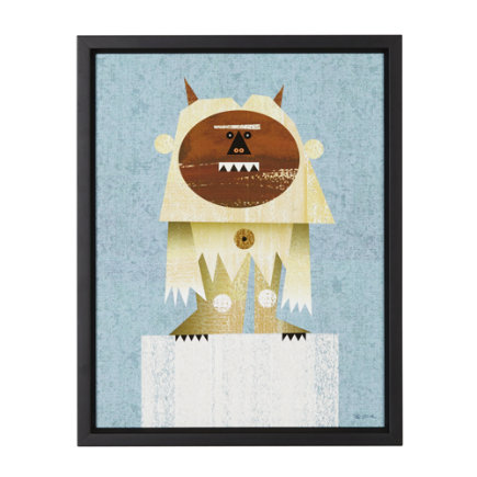 Yeti Wall Art - Yeti Framed Wall Art