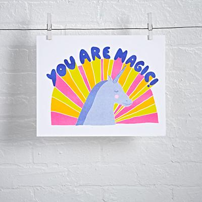 You Are Magic Unframed Wall Art