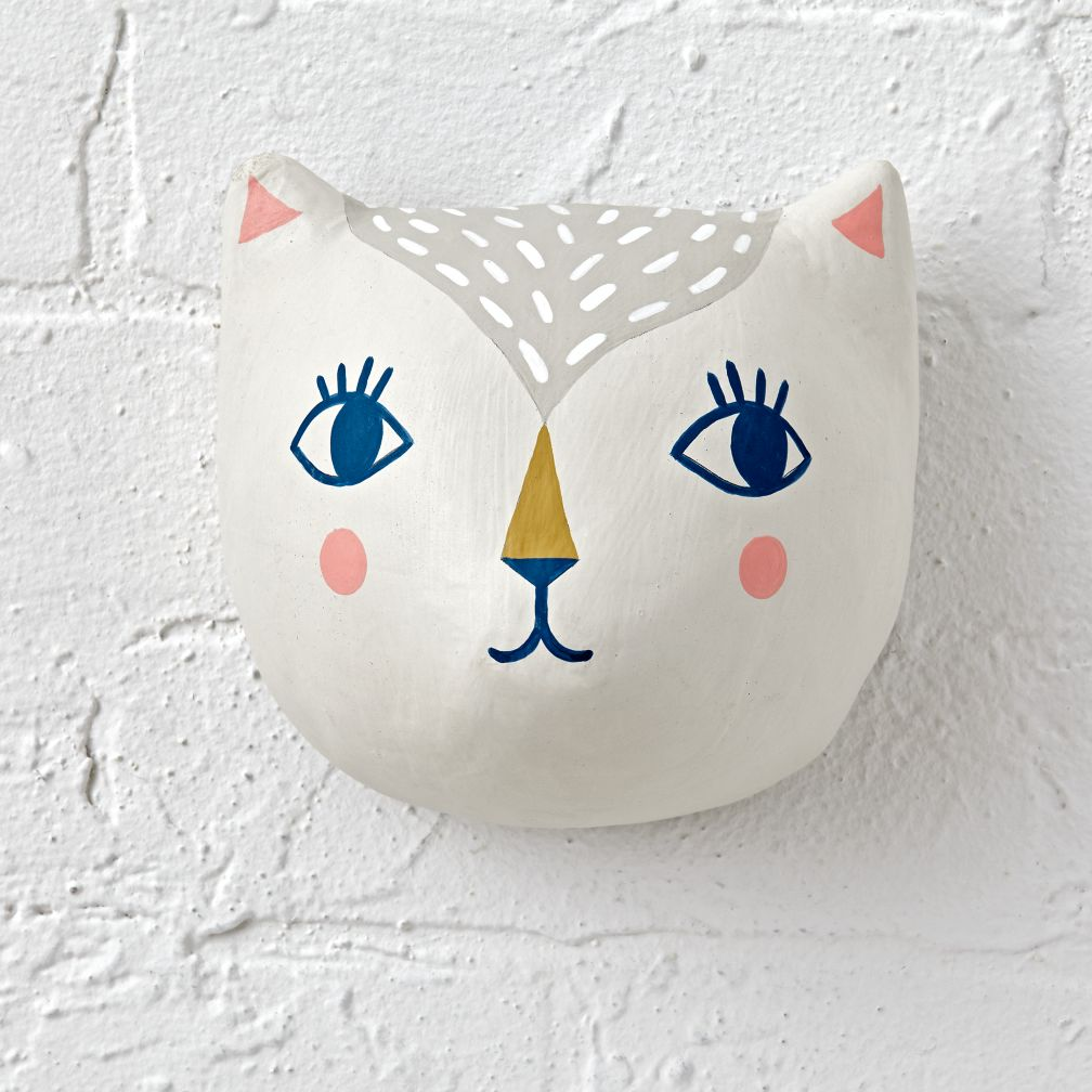 Pet Pal Cat Head Decor