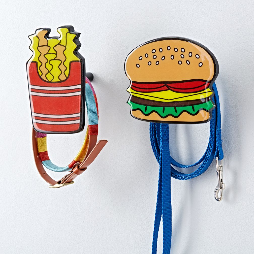 French Fries and Hamburger Wall Hook