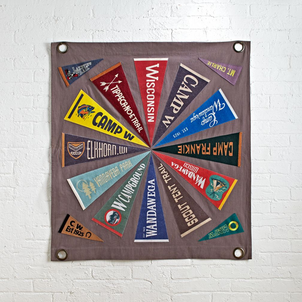 Pennant Wheel Wall Art