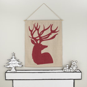 Canvas Deer Wall Art