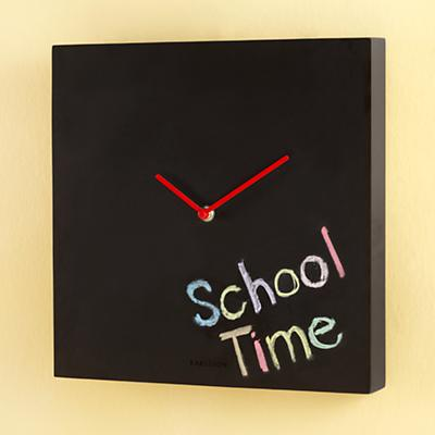 Check the Chalkboard Clock