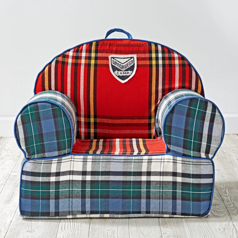 Executive Nod Chair Cover (Northwoods Plaid)