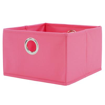 I Think I Canvas Wide Drawer (Pink)