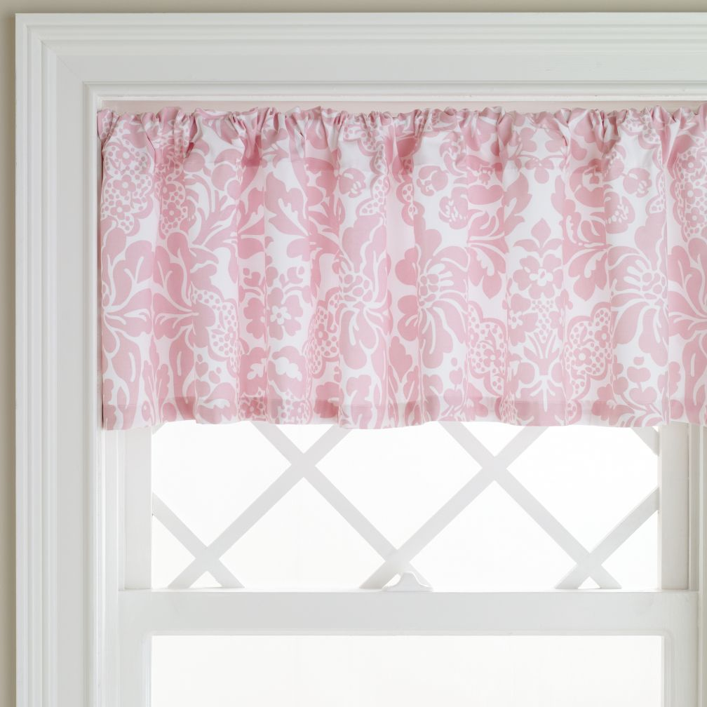 Pink Floral Wallpaper on Pink Wallpaper Floral Valance