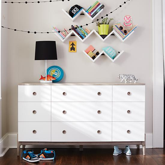 Kids Wall Shelf Storage - The Land of Nod