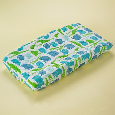 Blue Zoo Changing Pad Cover