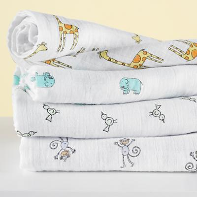 Jungle Jam Swaddle Blankets