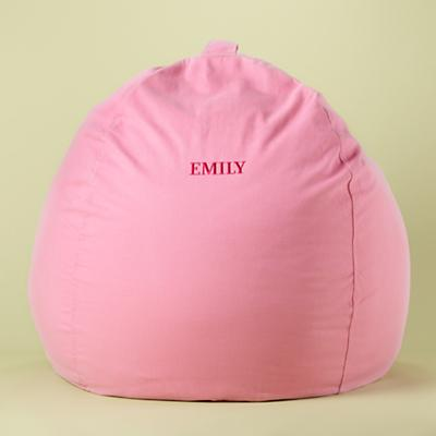 "40"" Personalized Lt. Pink Beanbag Cover"