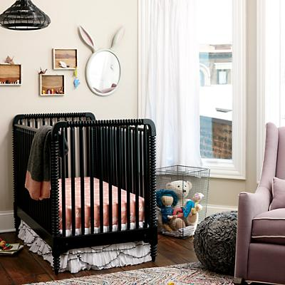 Swan Soiree Crib Bedding