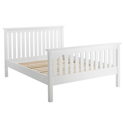 Full Simple Bed (White)