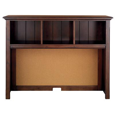 Walden Desk Hutch (Chocolate)