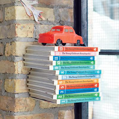 The Old Floating Bookcase Wall Shelf