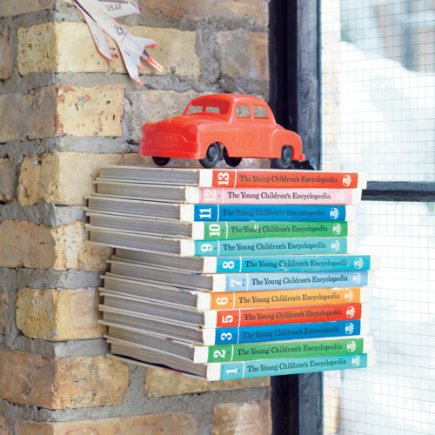 Kids Storage: Kids Wall Mounted Shelf - Invisible Wall Shelf