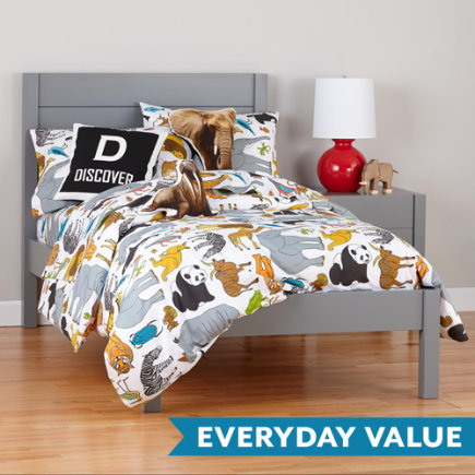 Twin Grey Uptown Bed