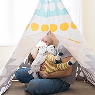 A Teepee to Call Your Own - Multi Dot