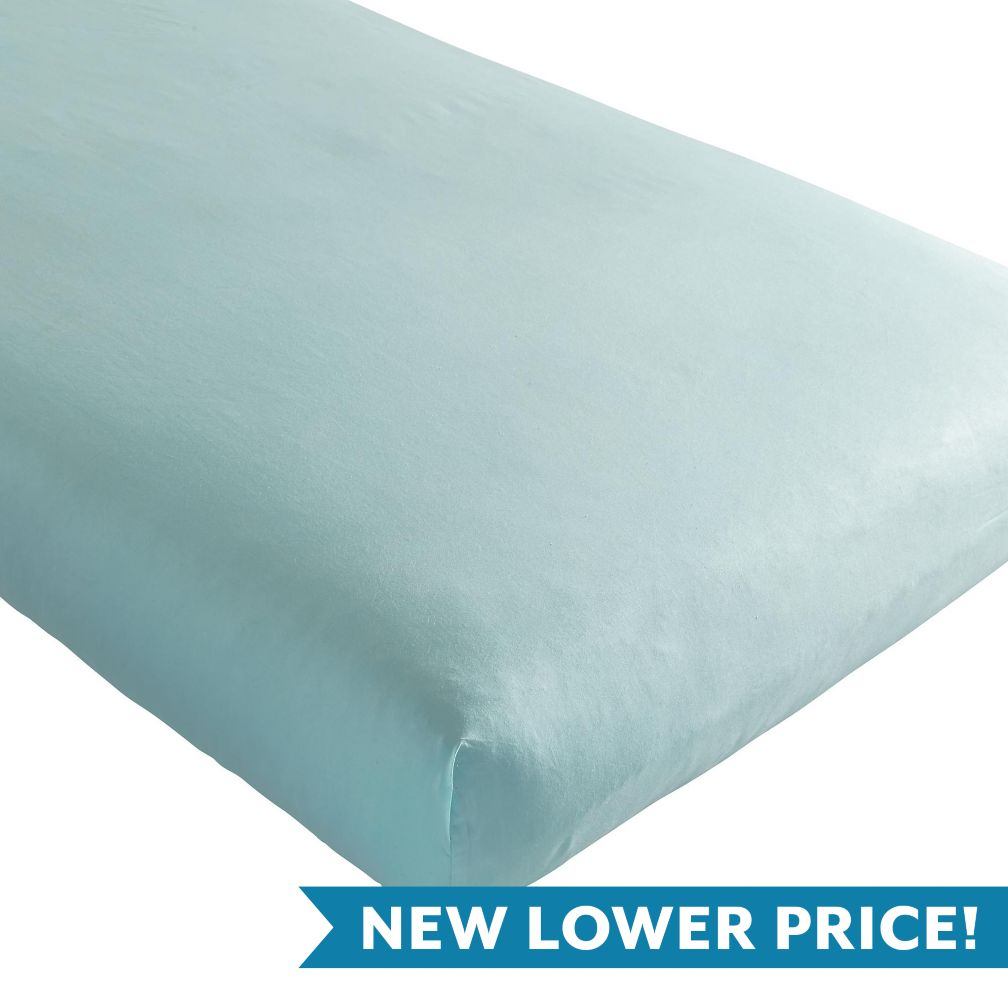 Iconic Crib Sheet (Mint)