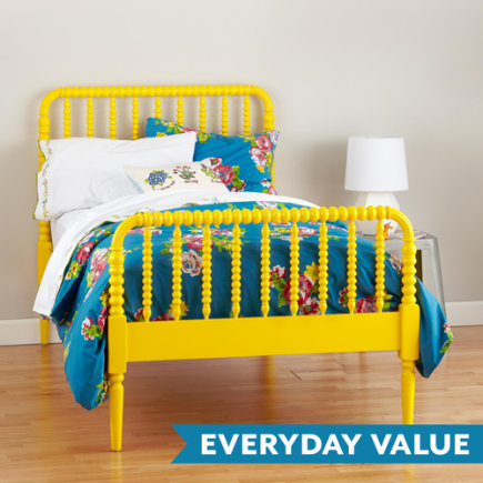 Jenny Lind Kids Bed (Yellow) - Twin Jenny Lind Yellow Bed