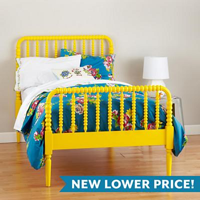 Jenny Lind Yellow Bed