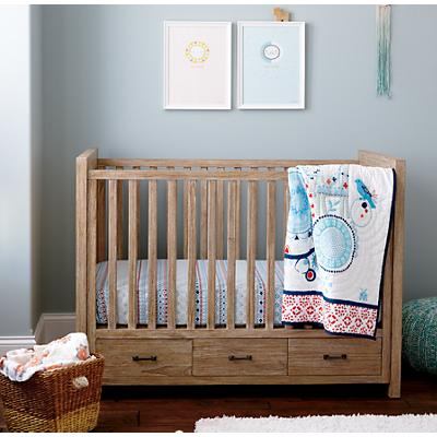 Painted Parade Crib Bedding