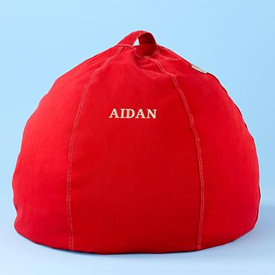 "30"" Personalized Beanbag Cover (Red)"