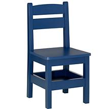 Navy Storage Chair from The Land of Nod