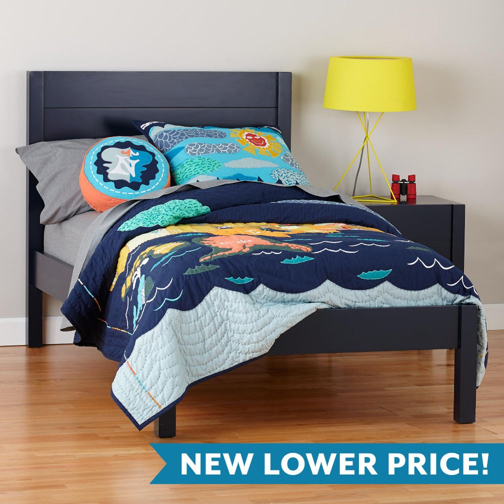 Uptown Bed (Midnight Blue)