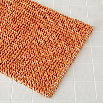 fresh start bath mat orange