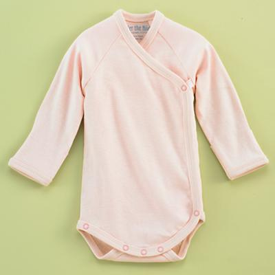 3-6 mos. Pink Sidesnap Onepiece