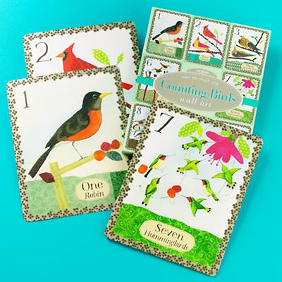 Two Birds, One Stone Wall Cards