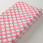 Pink & White Dot Changing Pad Cover