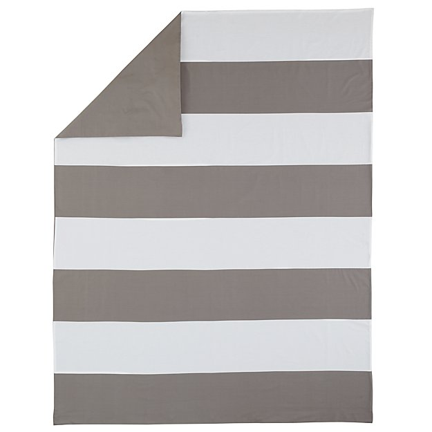 Twin Widest Stripe Duvet Cover