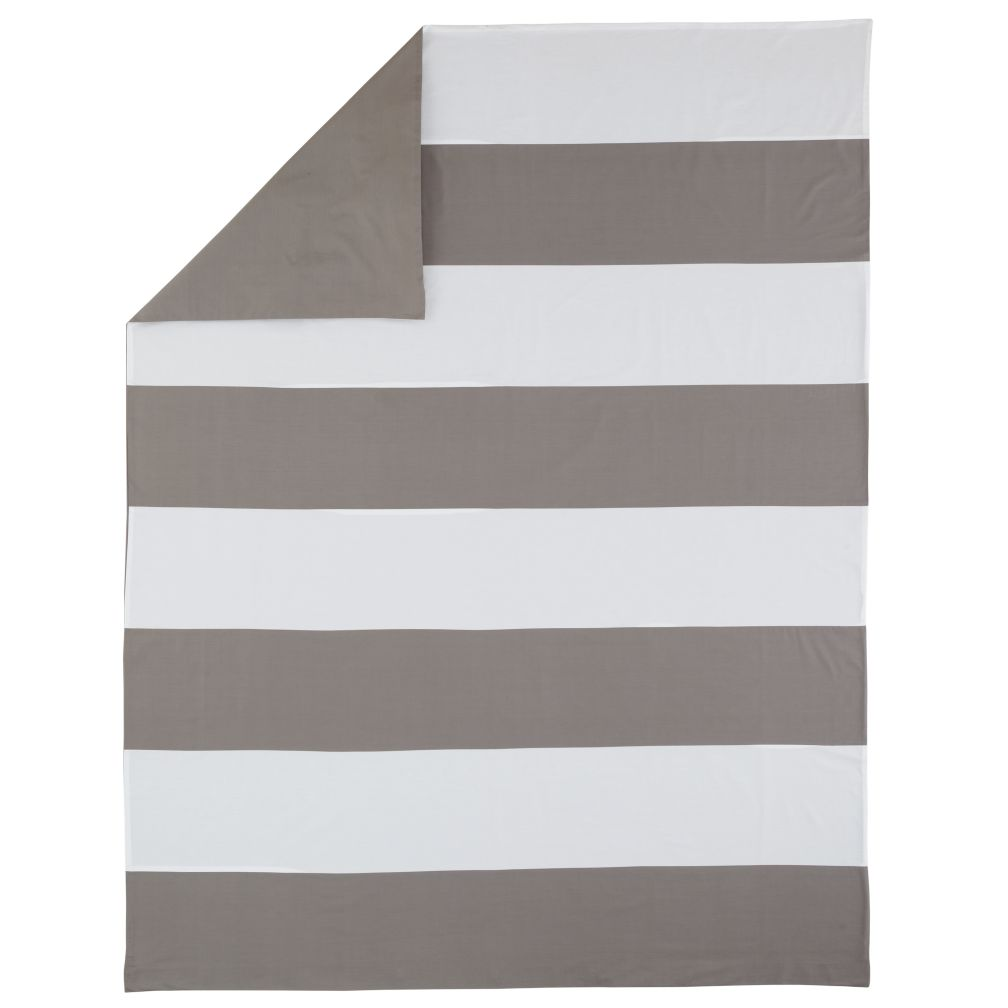 Full-Queen Widest Stripe Duvet Cover