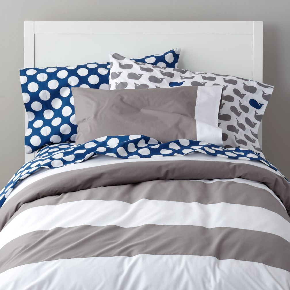 Widest Stripe Duvet Cover The Land Of Nod