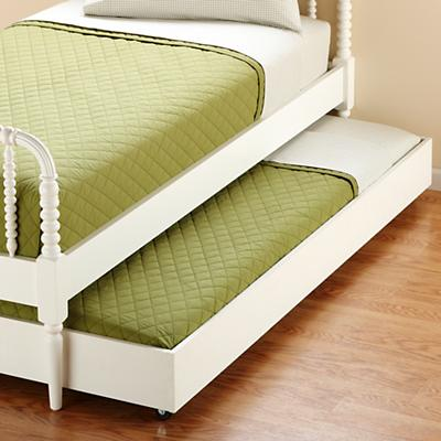 Jenny Lind Trundle Bed (White)