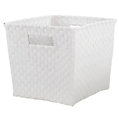 Strapping Cube Bin (White)