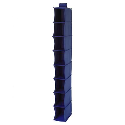 I Think I Canvas Narrow Hanging Organizer (Blue)