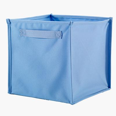 I Think I Canvas Cube Canvas Bin (Lt. Blue)
