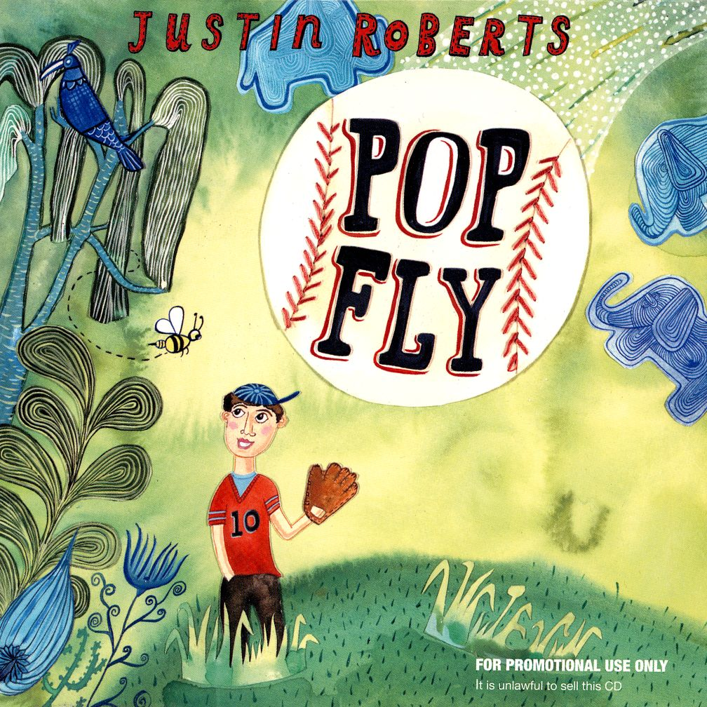 Popfly CD by Justin Roberts