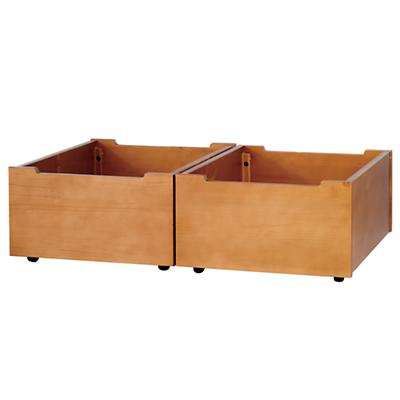 Activity Table Lt. Honey Bins (Set of 2)