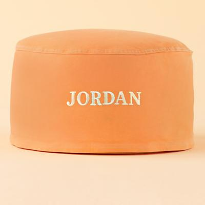 Orange Personalized One-Seater includes Cover and Insert