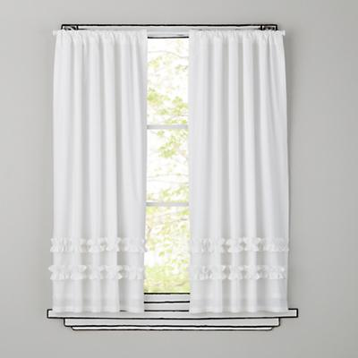 Ruffle Curtains (White)