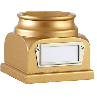 Lucky Baseball Holder (Gold)