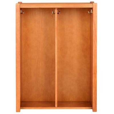 Lt. Honey Cube Locker Hutch