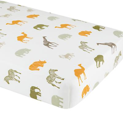 Crib Fitted Sheet (When in Roam Print)