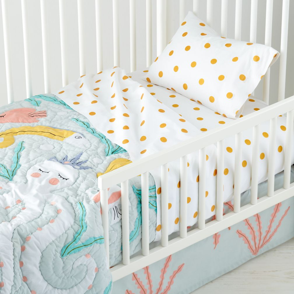 Marine Themed Toddler Bedding The Land Of Nod