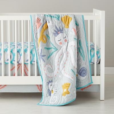 Marine Queen Crib Fitted Sheet