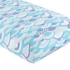 Blue Wave Crib Fitted Sheet